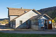 The barn on  Ritter Island, Thousand Springs Art Festival, Hagerman, Idaho.