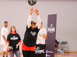 Spalding Competition  - Photo mandatory by-line: Joe Meredith/JMP - Mobile: 07966 386802 - 21/02/2015 - SPORT - Basketball - Bristol - SGS Wise Campus - Bristol Flyers v Plymouth Uni Raiders - British Basketball League