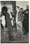 PETER DOIG, JARVIS COCKER, Sensation Opening. Royal Academy of Art. London.16 September 1997.