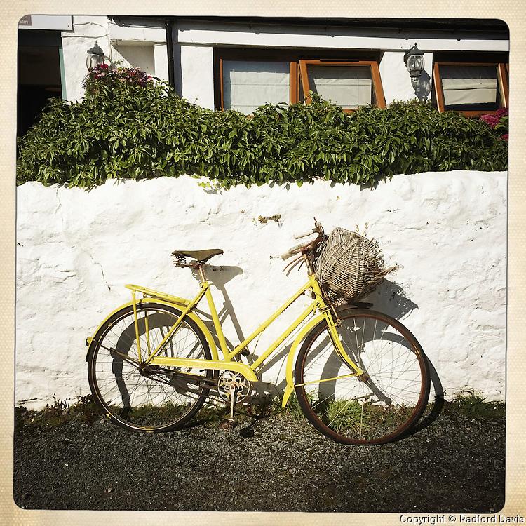 Bike on Isle of Skye, Scotland
