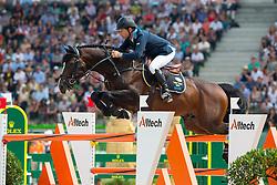 Rolf Goran Bengtsson, (SWE), Casall Ask - Show Jumping Final Four - Alltech FEI World Equestrian Games™ 2014 - Normandy, France.<br /> © Hippo Foto Team - Leanjo de Koster<br /> 07-09-14