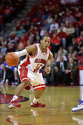 06 December 2008: Lloyd Phillips during a game where the  Illinois State University Redbirds extended their record to 9-0 with a 76-70 win over the Eagles of Morehead State on Doug Collins Court inside Redbird Arena on the campus of Illinois State University in Normal Illinois
