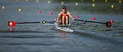 Plovdiv BULGARIA. 2017 FISA. Rowing World U23 Championships. <br /> SUI BLM1X. BUEHRER, Kaspar<br /> Wednesday. PM,  Heats 17:50:16  Wednesday  19.07.17   <br /> <br /> [Mandatory Credit. Peter SPURRIER/Intersport Images].