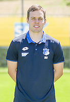 German Bundesliga - Season 2016/17 - Photocall 1899 Hoffenheim on 19 July 2016 in Zuzenhausen, Germany: Physiotherapist Michael Schuhmacher. Photo: APF | usage worldwide