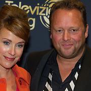 NLD/Amsterdam/20151015 - Televizier gala 2015, Annick Boer en Richard Groenendijk