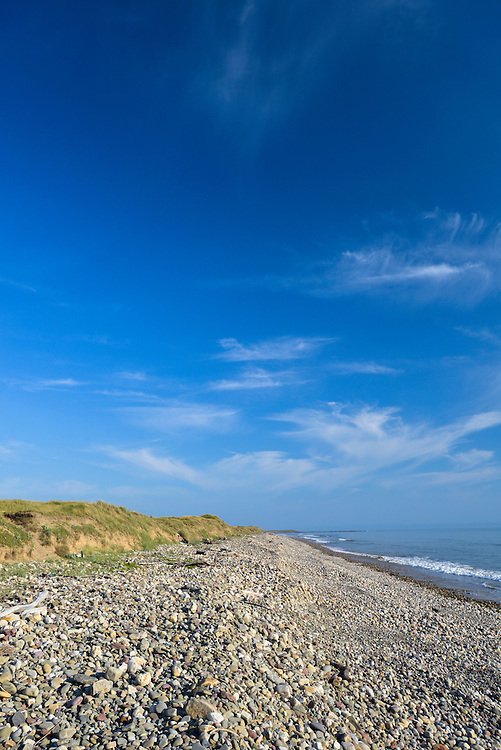 The beach at Kenfig Nature Reserve, South Wales