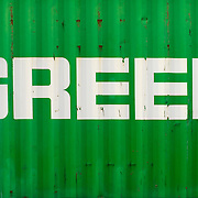 Shipping container detail