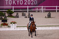 TOKYO - Olympische Spiele / Olympic Games 2021<br /> <br /> del VALLE QUIRARTE Martha Fernanda (MEX), Beduino Lam<br /> Grand Prix de Dressage<br /> <br /> Tokio, Equestrian Park<br /> 25. July 2021<br /> © www.sportfotos-lafrentz.de/Stefan Lafrentz