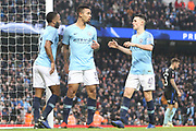 33 Gabriel Jesus scores for Manchester City during the The FA Cup 3rd round match between Manchester City and Rotherham United at the Etihad Stadium, Manchester, England on 6 January 2019.