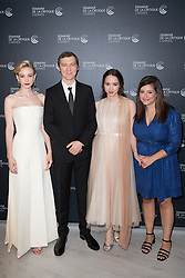 Carey Mulligan, Paul Dano, Zoe Kazan, Alex Saks attends the photocall for 'Wildlife' during the 71st annual Cannes Film Festival at L'Espace Miramar on May 09, 2018 in Cannes, France. Photo by Nasser Berzane/ABACAPRESS.COM