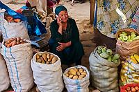 Kirghizistan, province de Och, ville de Och, le vieux bazar // Kyrgyzstan, Och province, Och city, old bazar