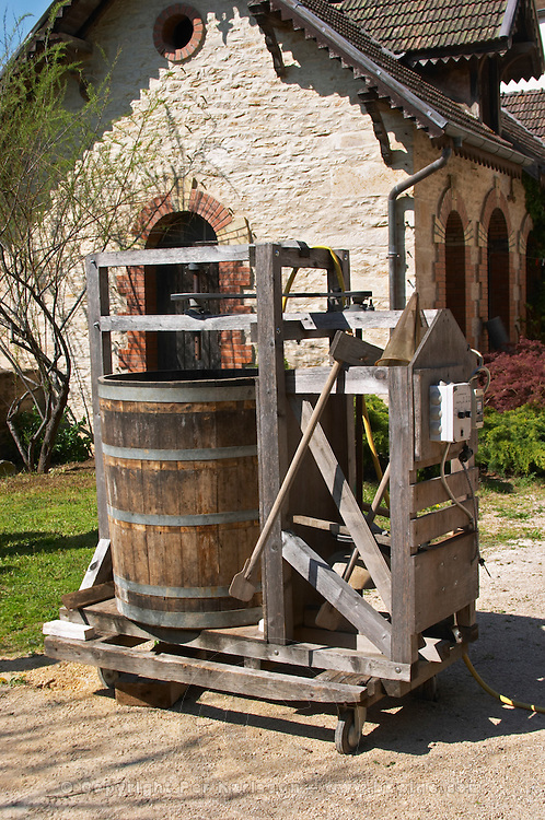 a biodynamic dynamisateur to make infusions monthelie cote de beaune burgundy france
