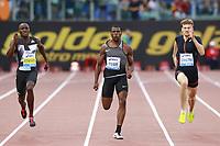 Ameer Webb USA Winner 200m Men  <br /> Roma 02-06-2016 Stadio Olimpico.<br /> IAAF Diamond League 2016<br /> Atletica Legera <br /> Golden Gala Meeting - Track and Field Athletics Meeting<br /> Foto Cesare Purini / Insidefoto