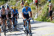 Alejandro Valverde (ESP - Movistar) during the 105th Tour de France 2018, Stage 11, Alberville - La Rosiere Espace Bernardo (108,5 km) on July 18th, 2018 - Photo Luca Bettini / BettiniPhoto / ProSportsImages / DPPI
