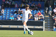 Dylan Crowe of England (2) during the UEFA European Under 17 Championship 2018 match between England and Israel at Proact Stadium, Whittington Moor, United Kingdom on 4 May 2018. Picture by Mick Haynes.