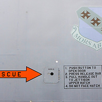 (PSUNDAY) McGuire AFB 6/4/2004  Detail of a B-1 bomber on display at the McGuire Airforce Base airshow.  EDS:  Due to weather the in air performances were either cancelled or delayed indefinitely until the conditions made it safe to fly. Please also note the crowds were VERY thin.  I did the best I could.   Michael J. Treola Staff Photographer....MJT