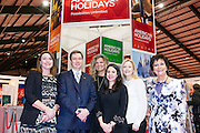 27/1/16 US Chargé d'affaires Reece Smyth at the American Holidays stand at the Holiday World Show 2017 at the RDS Simmonscourt in Dublin. Picture: Arthur Carron