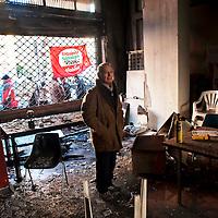 Attentato incendiario in  un circolo di Sinistra Ecologia e Libertà