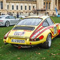 #139, Porsche 911 S/T Tour de France (1970) at Rennsport Collective at Stowe House, Buckinghamshire, UK, on 1 November 2020