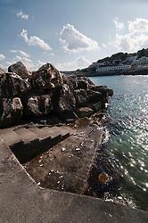 Castro Marina - Salento - Puglia - La banchina del porto.