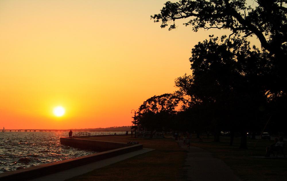 North Shore Sunset, Lake Pontchartrain