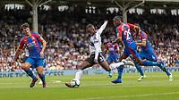 Football - 2018 / 2019 Premier League - Fulham vs. Crystal Palace<br /> <br /> Ryan Sessegnon (Fulham FC) prepares to strike a shot at goal at Craven Cottage<br /> <br /> COLORSPORT/DANIEL BEARHAM