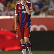 Lucas Scholl, Bayern Munich, in action during the FC Bayern Munich vs Chivas Guadalajara, friendly football match at Red Bull Arena, New Jersey, USA. 31st July 2014. Photo Tim Clayton