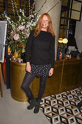 21 November 2019 - Olivia Inge at the launch of Sam's Riverside Restaurant, 1 Crisp Walk, Hammersmith hosted by owner Sam Harrison, Edward Taylor and Jack Brooksbank.<br /> <br /> Photo by Dominic O'Neill/Desmond O'Neill Features Ltd.  +44(0)1306 731608  www.donfeatures.com