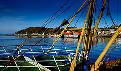 A fishing vessel in the harbour in Oban Scotland<br /> <br /> (c) Andrew Wilson | Edinburgh Elite media