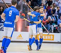 ROTTERDAM  -  finale NK  zaalhockey Pinoke JA1-Kampong JA1 (5-4).   COPYRIGHT  KOEN SUYK