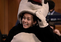 Miley on  on the Tonight Show Starring Jimmy Fallon 18 May 2017