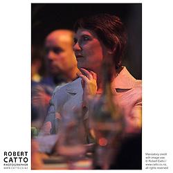 Helen Clark at the Wellington Region Gold Awards 07 at TSB Arena, Wellington, New Zealand.