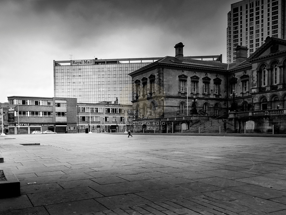 Belfast,Great Britain, Ulster: Donegal Quay, 75 Custom House Square, behind The Royal Mail Office Building at Tomb Street in Belfast, Northem Ireland by . Photographs by Alejandro Sala   Visit Shop Images to purchase and download a digital file and explore other Alejandro-Sala images…