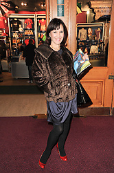 ARLENE PHILLIPS at the gala opening night of Cirque du Soleil's Varekai at the Royal Albert Hall, London on 5th January 2010.