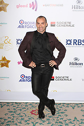 © Licensed to London News Pictures. 25/04/2014, UK. Louie Spence. The Out In The City & g3 Readers Awards, The Landmark Hotel, London UK, 25 April 2014. Photo credit : Brett D. Cove/Piqtured/LNP