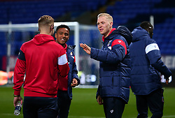 Hordur Magnusson and Niclas Eliasson of Bristol City arrive at the Macron Stadium ahead of the fixture with Bolton Wanderers - Mandatory by-line: Robbie Stephenson/JMP - 02/02/2018 - FOOTBALL - Macron Stadium - Bolton, England - Bolton Wanderers v Bristol City - Sky Bet Championship