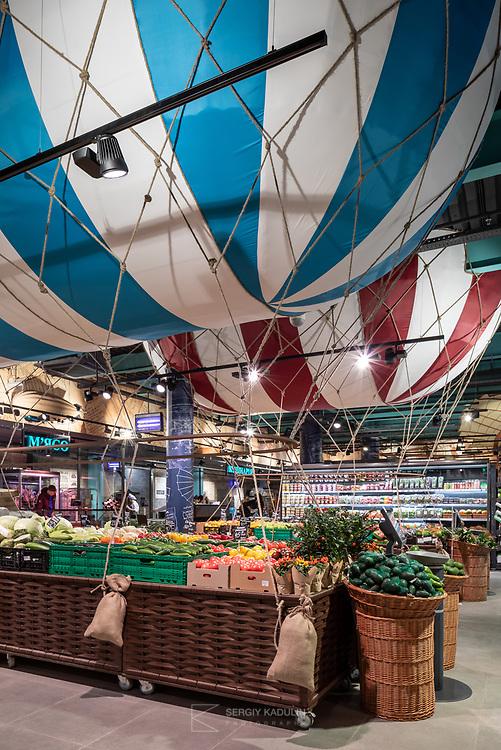 """Интерьерная фотосъемка магазинов """"Сильпо"""", Украина. Магазин в г. Винница."""