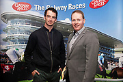 25/09/2018 Repro free: <br />  National Hunt jockey Patrick Mullins and GM GAlway Race Course Michael Moloney  at the launch of Galway Racecourse  details of their new and exciting three-day October Festival that takes place over the Bank Holiday weekend, Saturday 27th, Sunday 28th and Monday 29th continuing racing and glamour into the Autumn.<br />   Each of the three race days offers something for all the family to enjoy, with a special theme attached to each day, together with fantastic horse racing, live music, delicious hospitality, entertainment and of course the meeting of old friends and new at Ballybrit.  <br /> Halloween Family Fun <br /> On Saturday 27th October come along with your children and grand children and enjoy the 'Spooktacular' Halloween themed family fun day with lots of entertainment including a fancy-dress competition, Halloween games and face painting to mention but a few!! All weekend children under 16 years of age have free admission. <br /> Race in Pink <br /> As part of this new October Festival and with-it being Breast Cancer Awareness month, Galway Racecourse have partnered with The National Breast Cancer Research Institute to host a dedicated fundraiser on Sunday 28th October called 'Race in Pink'.  <br /> <br /> Student Race Day in aid of the Voluntary Services Abroad <br /> Monday sees the return of our annual 'Student Race Day' in conjunction with the Voluntary Services Abroad (a medical aid charity run by the fourth-year medical students of NUI, Galway), and the NUIG Rugby Club.  Each year, this fundraising day for the student organisations raises a tremendous amount of money for their chosen projects including the VSA annual summer volunteer trip to Africa where they use the funds raised to help projects at the hospitals they visit. <br />  National hunt racing on Saturday kicks off at 2.05pm with racing Sunday and Monday off at 1.05pm. Adult admission on all three days is €15 with children under 16 years of age, free. For more 