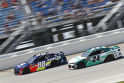 July 1, 2018 - Joliet, Illinois, United States of America - Alex Bowman (88) battles for position during the Overton's 400 at Chicagoland Speedway in Joliet, Illinois  (Credit Image: © Justin R. Noe Asp Inc/ASP via ZUMA Wire)