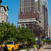 Worth Square and Empire State Building in Manhattan, New York