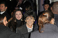 LONDON - FEBRUARY 13: Ronnie Wood attends the public relations disaster that was the outside arrivals at the ELLE Style Awards at the Savoy Hotel, London, UK on February 13, 2012. (Photo by Richard Goldschmidt)