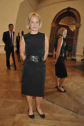 MARIELLA FROSTRUP attends the private view of Anish Kapoor's latest exhibition at the Royal Academy of Arts, Piccadilly, London on 22nd September 2009