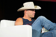 """LAS VEGAS, NV - JULY 10:  Donald """"Cowboy"""" Cerrone looks on during UFC Fan Expo Day 3 at the Las Vegas Convention Center on July 10, 2016 in Las Vegas, Nevada. (Photo by Cooper Neill/Zuffa LLC/Zuffa LLC via Getty Images) *** Local Caption *** Donald """"Cowboy"""" Cerrone"""