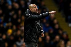 Manchester City manager Pep Guardiola - Mandatory by-line: Robbie Stephenson/JMP - 26/11/2019 - FOOTBALL - Etihad Stadium - Manchester, England - Manchester City v Shakhtar Donetsk - UEFA Champions League Group Stage