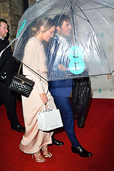 © Licensed to London News Pictures. 13/02/2016. <br /> LAURA HADDOCK and SAM CLAFLIN attend the BAFTA Lancôme Nominees' Party held at Kensington Palace. London, UK. Photo credit: Ray Tang/LNP