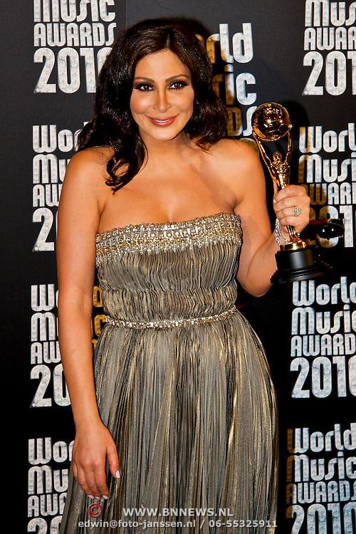 MON/Monte Carlo/20100512 - World Music Awards 2010,Arabische Elissa