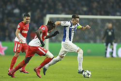 December 6, 2017 - Na - Porto, 06/12/2017 - Football Club of Porto received, this evening, AS Monaco FC in the match of the 6th Match of Group G, Champions League 2017/18, in Estádio do Dragão. Kevin N'Doram; Herrera  (Credit Image: © Atlantico Press via ZUMA Wire)