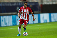 PIRAEUS, GREECE - NOVEMBER 25: Bruma of Olympiacos FC during the UEFA Champions League Group C stage match between Olympiacos FC and Manchester City at Karaiskakis Stadium on November 25, 2020 in Piraeus, Greece. (Photo by MB Media)