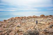 Antelope Island State Park, Utah.