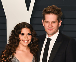 February 24, 2019 - Los Angeles, California, USA - LOS ANGELES, CA - FEBRUARY 24: America Ferrera and Ryan Piers Williams at the Vanity Fair Oscar Party on February 24, 2019 in Los Angeles, California. Photo: imageSPACE (Credit Image: © Imagespace via ZUMA Wire)